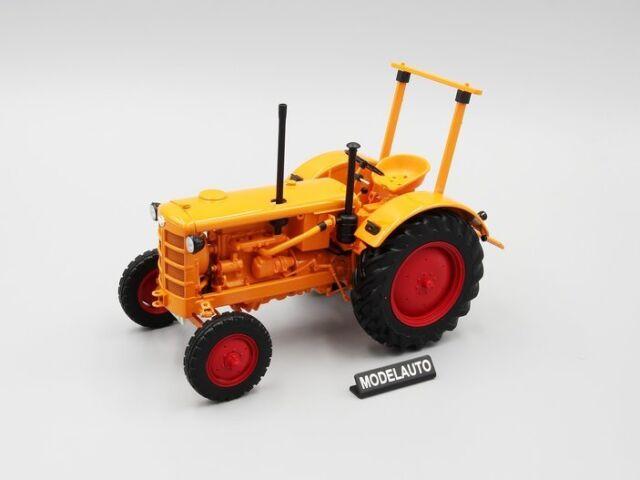 in orange  Minichamps Maßstab 1:18 OVP NEU Hanomag R28 Traktor 1953