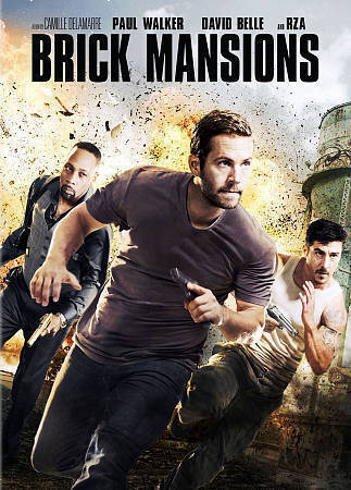 Brick Mansions DVD, 2014  - $1.50