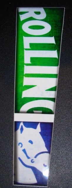 ROLLING ROCK Long Rolling Logo STICKER decal craft beer brewing brewery