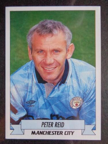 #131 MANCHESTER CITY Panini Football/'93-Peter Reid