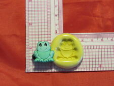 Baby Frog Silicone Push Mold A48 For Fondant Resin Clay Cake Pop Chocolate Candy