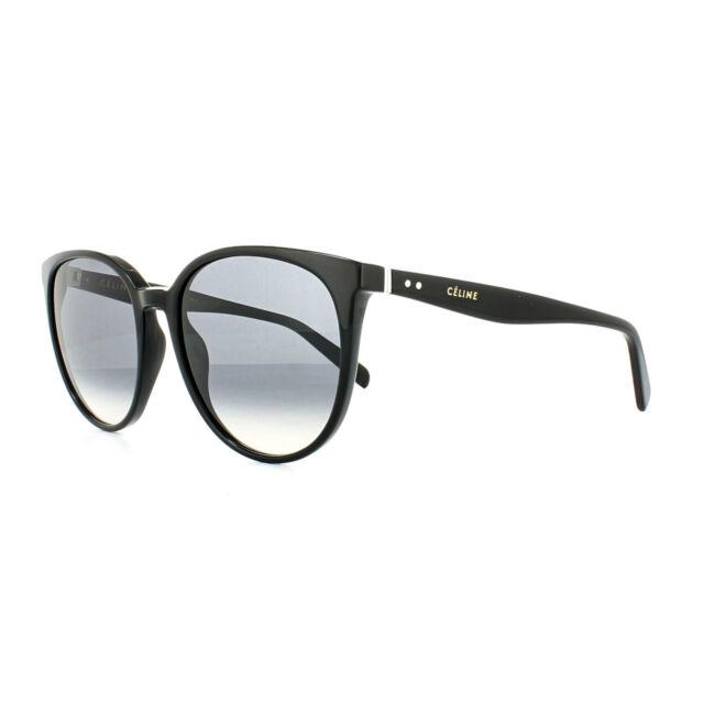1bec31eed6 Celine Sunglasses 41068 s Thin Mary 807 W2 Black Dark Grey Gradient ...