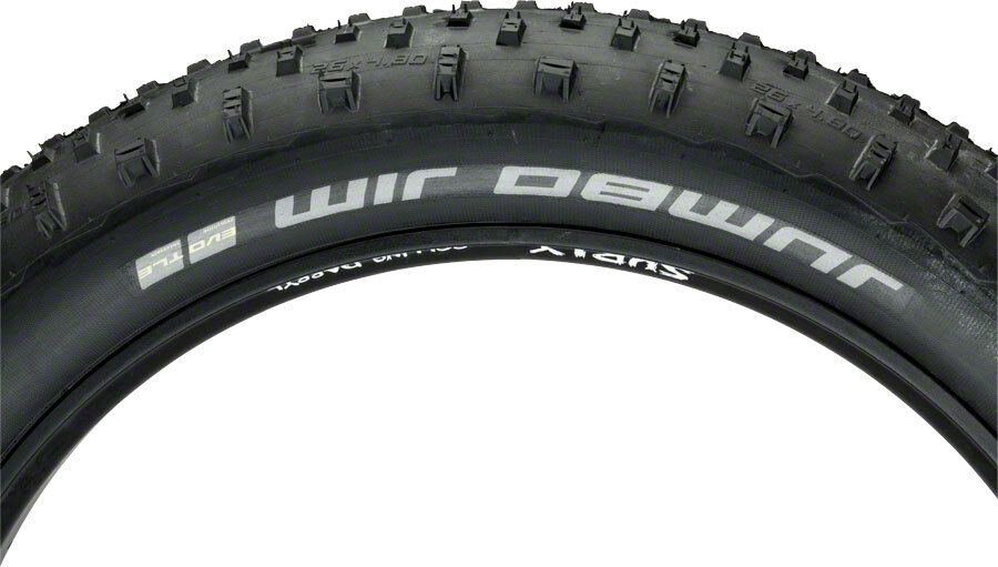 Schwalbe Jumbo Jim SnakeSkin TL Easy Tire, 26x4.8 EVO  Folding, Addix SpeedGrip  fast delivery and free shipping on all orders