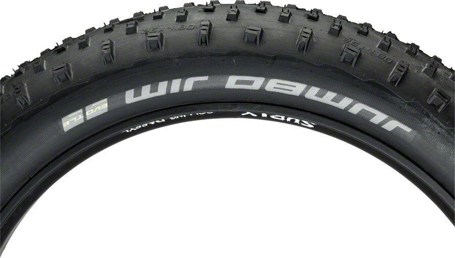 Schwalbe Jumbo Jim SnakeSkin TL Easy Tire, 26x4.8 EVO  Folding, Addix SpeedGrip  10 days return