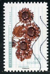 France Autoadhesif Oblitere N° 1417 // Fleurs Et Metiers D'art