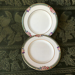 Two-Royal-Doulton-Orchard-Hill-Bread-and-Butter-Plates-New-with-Tag