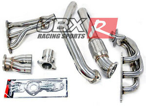 OBX Long Tube Header For 1997-2003 Pontiac Grand Prix GTP 3.8L Super Charged