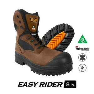 DuraDrive-Men-039-s-CSA-Easy-Rider-8-in-Insulated-Composite-Toe-Work-Boot