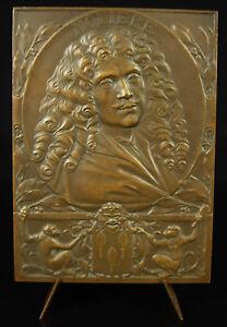 Medaille-Jean-Baptiste-Poquelin-dit-Moliere-G-Prud-039-homme-Theatre-acteur-medal