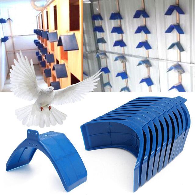 10pcs Plastic Rest Stand Bird House Pigeon Dove Parrots Nest Bird Bed Frame Dwelling Bird Cage Supplies Home & Garden Bird Supplies