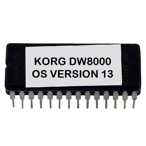 DW8000 Korg DW-8000 Version 13 Firmware Latest OS Update Eprom
