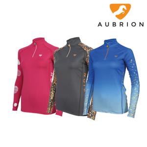 Aubrion Maids Childrens ALVERSTONE XC Cross Country Top Shirt
