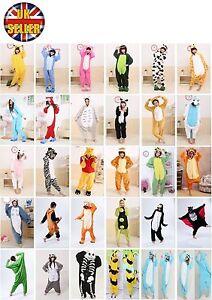 CARTOON-CHARACTERS-Unisex-Onesiee-Kigurumi-Fancy-Dress-Costume-Hoodies-Pajamas