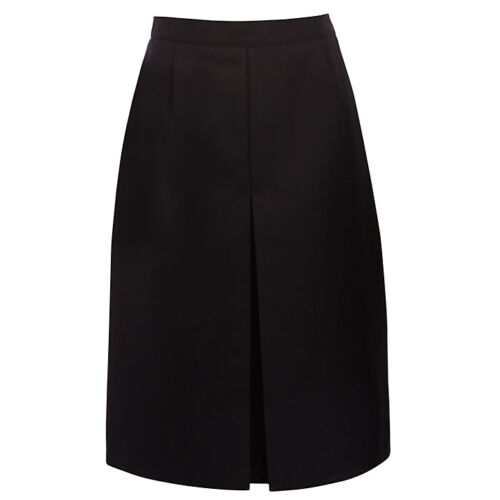 Girls Navy Front Pleated School Skirt Age 10-14