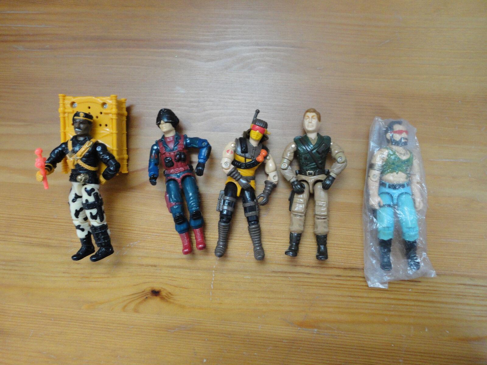 Gi - joe actionfiguren gemischte menge 5 hasbro 3,5 zoll diverse charaktere gemischte v