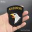 Patch-Toppa-Esercito-Militare-Military-AirBorne-AirForce-Ricamata-Termoadesiva Indexbild 2