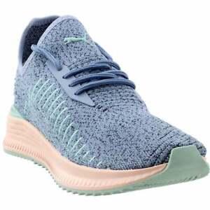 Puma-Avid-Evoknit-Cu-Lace-Up-Sneakers-Casual-Blue-Mens