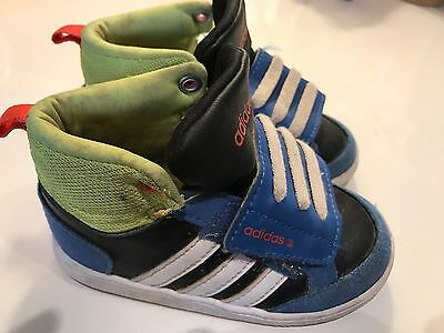 New Adidas Hoops Mid Baby Kids 5.5K Neo Label Basketball Shoes | eBay