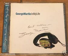 GEORGE MARTIN IN MY LIFE ~ HAND SIGNED CD THE BEATLES ~ UACC REGISTERED DEALERS