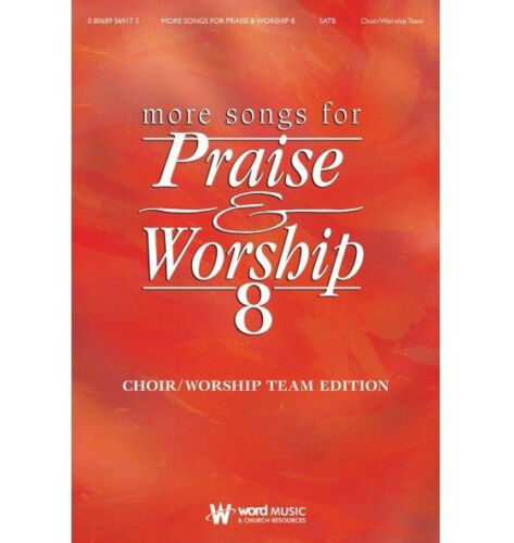 Piano//Vocal//Guitar Songbook 080689327186 More Songs of Praise /& Worship 8