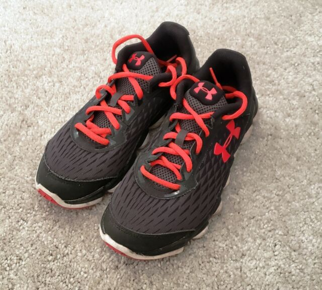 Under Armour Grade School Micro G Spine Disrupt 1266314 002 Boys Running Shoes