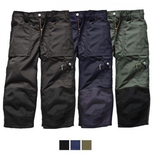 Dickies Eisenhower 3//4 Genou Pad Pantalon Pantalon été Vêtement De Travail Genou Pad Poches