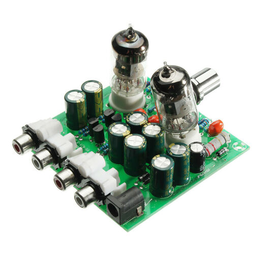 1pc 6J1 Valve Earphone Headphone Stereo Audio Amplifier Board Preamplifier
