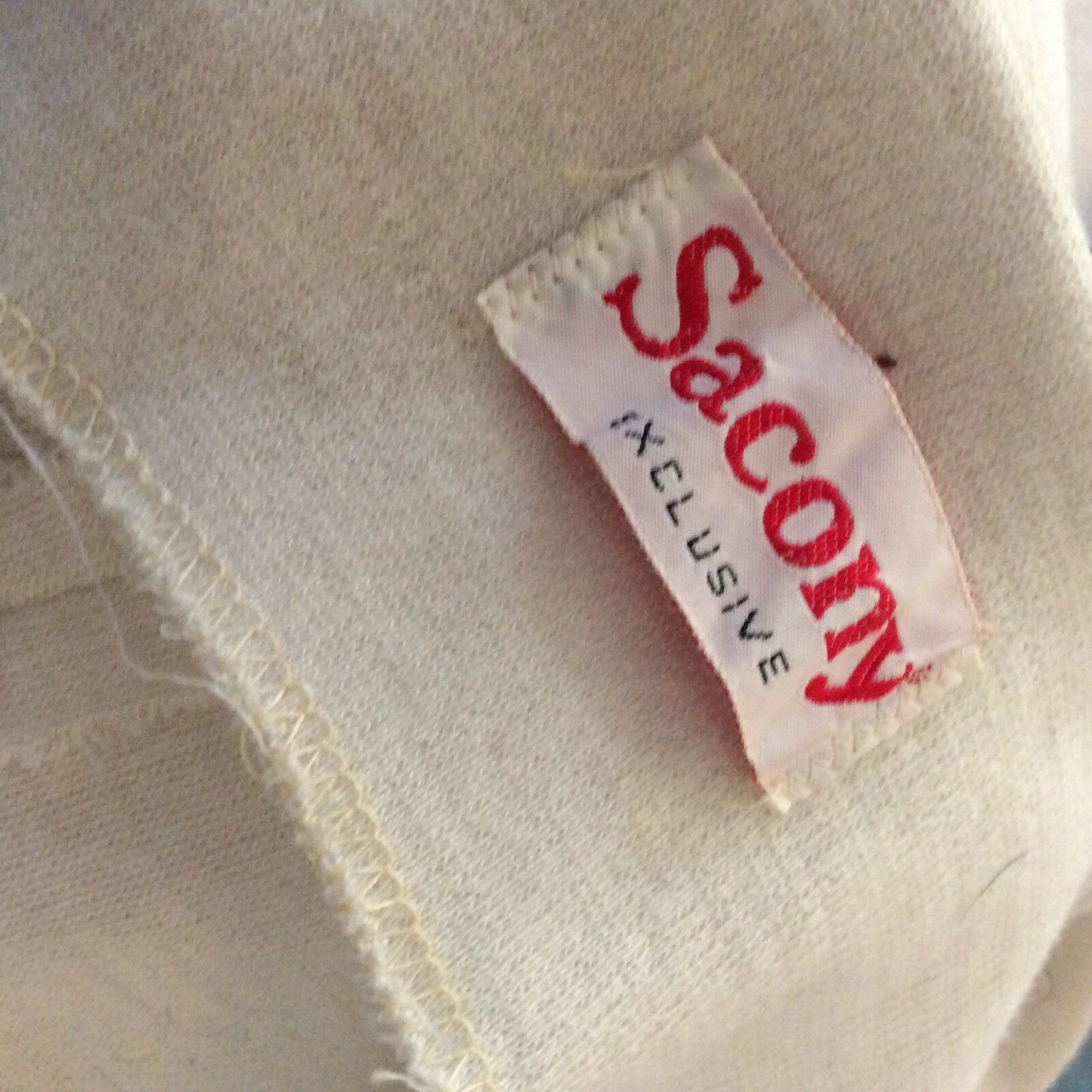 Vintage Sacony Exclusive Button Front Belted Shif… - image 8