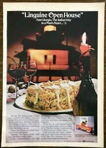 1972-San-Giorgio-Linguine-Print-Ad-Open-House-The-Italian-Way-to-a-Man-039-s-Heart