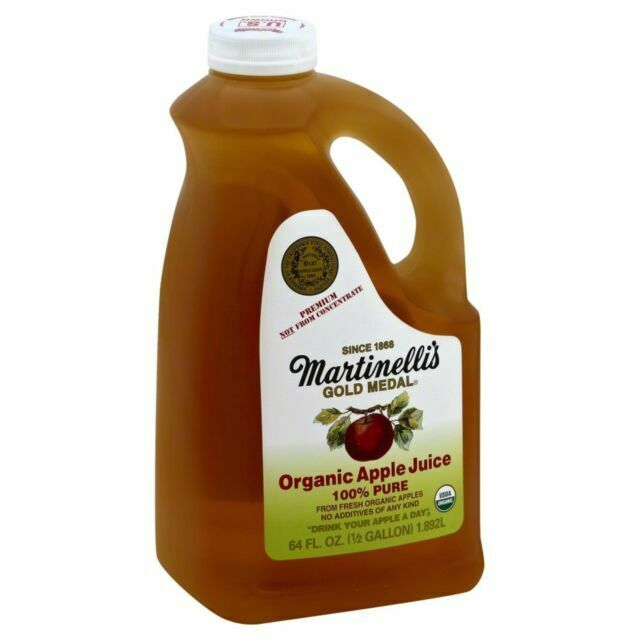 Martinelli S Organic Apple Juice 64oz 6 Pack For Sale Online Ebay