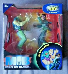 Details About Mib Men In Black Toy Collectors Item Body Slam Jay Will Smith Alien Perp