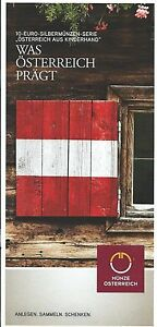 Infofolder 10 Euro : Was Österreich Prägt - Keine Münze - Gföhl, Österreich - Infofolder 10 Euro : Was Österreich Prägt - Keine Münze - Gföhl, Österreich