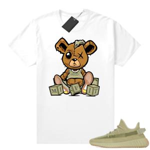 Shirt for Yeezy-Boost 350 V2 Sulfur shirt – White |Misfit Teddy Tshirt