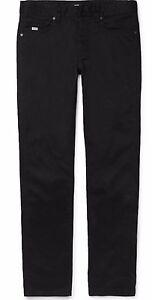 Hugo-Boss-Jeans-Alabama-Corte-Normal-Negro-Talla-W33-X-L34-Nuevo-con-Etiqueta