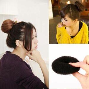 New Girls Women Beauty Accessories Bun Maker Hair Tools Ring Magic Donut Shaper+