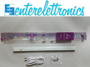 Plafoniera Led 12v Con Interruttore : Led plafoniera tubo luce naturale k sottopensile con