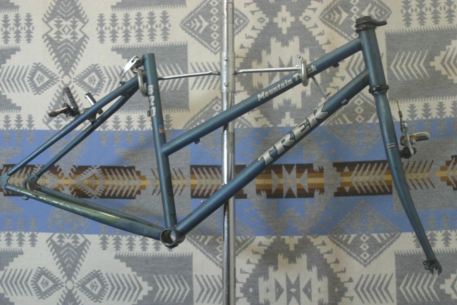 Trek 820 Usa Made Vintage Cuadro para Bicicleta de montaña bicicleta de montaña 26  27.5  650b STX RC obras benéficas.