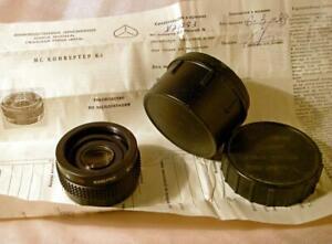 MC K-1 2x lens DOUBLER TELECONVERTER f M42 Zenit Pentax camera Kiev Arsenal 1987