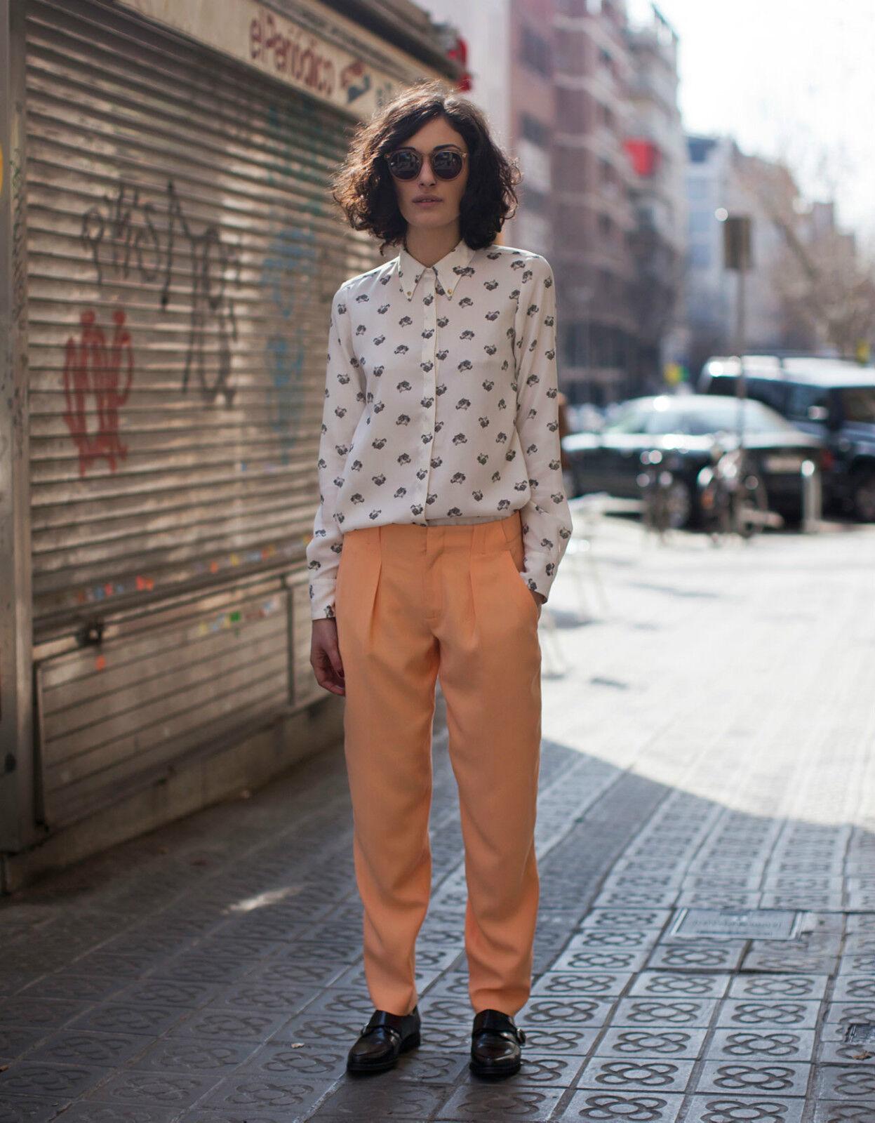Zara Neu Shirt Blause Top Größe L