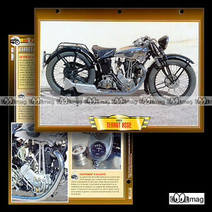 108-09-Fiche-Moto-TERROT-350-HSSE-1931-1932-Classic-Bike-Motorcycle-Card
