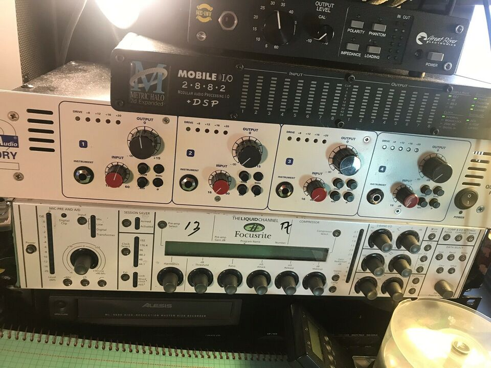 TL Audio Quad Valve Preamp, TL Audio 5001