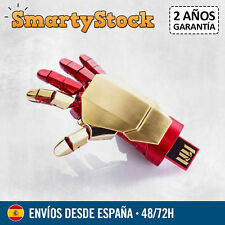Pendrive Iron Man Mano Articulable Marvel 16 GB - Memoria USB - Entrega 72h