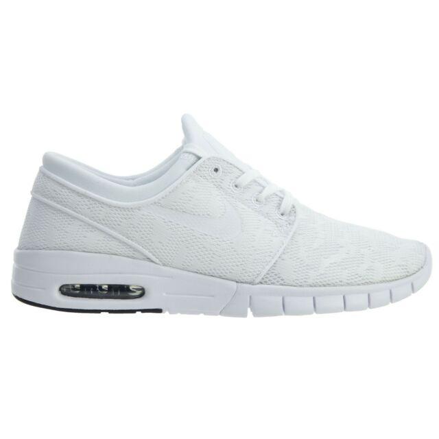 Derribar Comercialización planes  Size 8.5 - Nike SB Stefan Janoski Max White for sale online   eBay