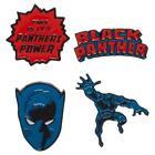 Black Panther Movie Logo Marvel Comics Lapel 4 Pin Set by Bioworld