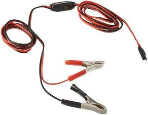 [DIAGRAM_4FR]  Wire Harness With Clamps 8 Feet 16 Gauge Supplying Power 12 Volt Battery |  eBay | 12 Volt Battery Wire Harness |  | eBay