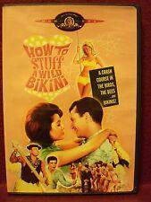 How to Stuff a Wild Bikini (DVD, 2000) Annette Funicello & Frankie Avalon