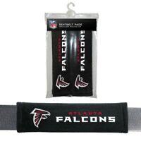 Atlanta Falcons 2 Velour Seat Belt Laptop Gym Bags Shoulder Pads Nfl Football