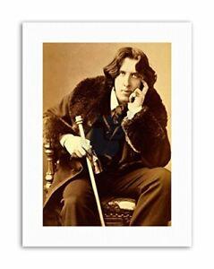 OSCAR-WILDE-POET-PLAYWRIGHT-LEGEND-IRISH-NEW-Poster-Picture-Vintage-Portrait