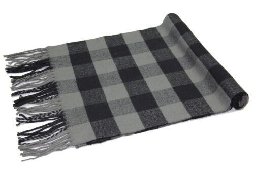 Buffalo Check Soft Warm Cashmere Feel Rob Roy Tartan Plaid Winter Scarf Unisex