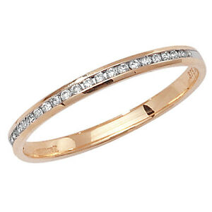 Anillo-De-Eternidad-Con-Diamante-Oro-Amarillo-Fino-Juego-Canal-Tallas-Grandes-R
